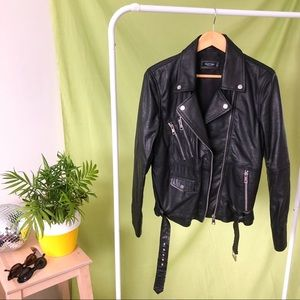 NASTY GAL ~ REAL LEATHER JACKET
